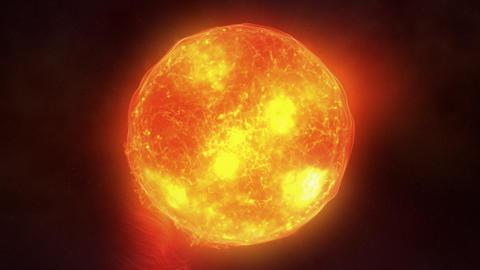 Sun surface Stock Video Footage
