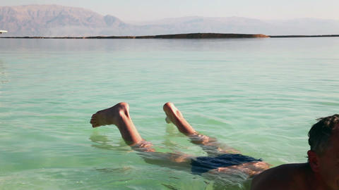 Rest Of The Dead Sea stock footage