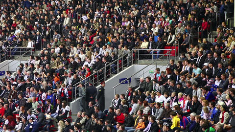 Stadium Crowd Stock Video Footage