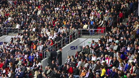 Stadium Crowd Stock Video Footage