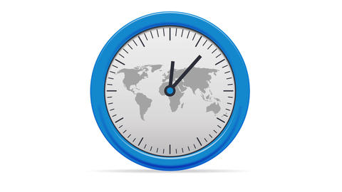 World Clock Animation
