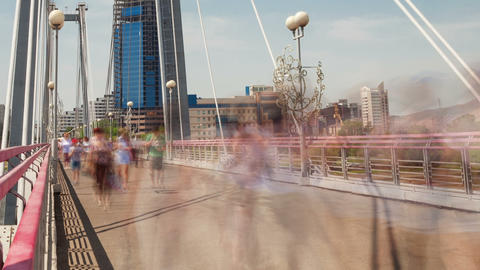 Bridge, Time Lapse, Long Exposure Footage