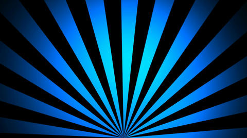 abstract blue sunrise Stock Video Footage