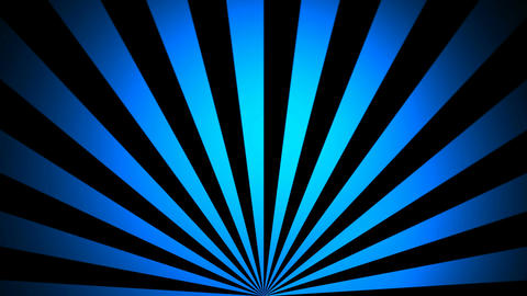 abstract blue sunrise Animation