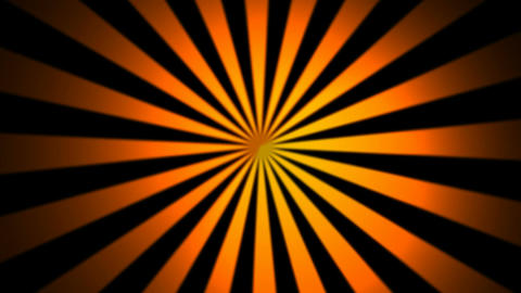 orange sun rays Stock Video Footage