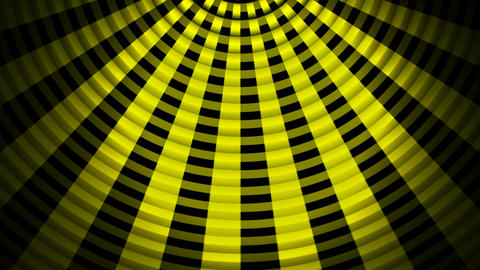 yellow lights fan Animation