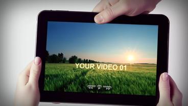 Tablet & Mobile AEテンプレート