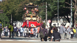 Colorful parade in Japan Stock Video Footage