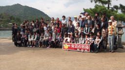 Group picture in Japan timelapse Stock Video Footage
