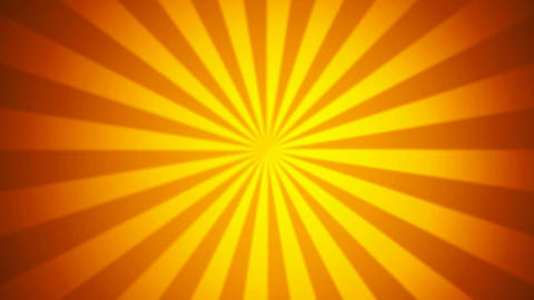 hot abstract sunrays Animation