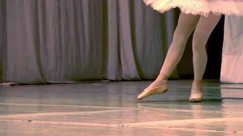 Ballerina Legs Footage