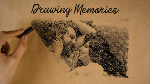 Drawing Memories 4K After Effects Template