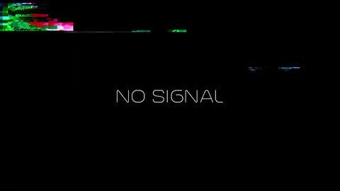 NO SIGNAL RETRO VHS SCREEN Style 2 / NO SIGNAL RETRO VHS 2 / A retro VHS Screen Animation