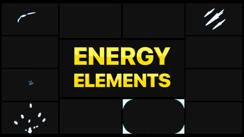 Energy Elements After Effects Template