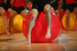 gymnastic ball Foto