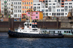 Tugs at the port of Hamburg Photo