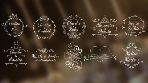 Wedding Titles/Badges Pack