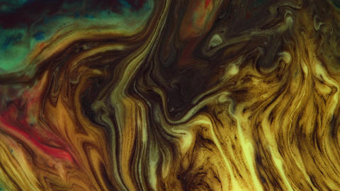 Marble texture. Abstract dark pastel streams flow through the vessel on a dark Live Action