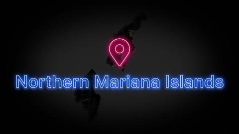 Northern Mariana Islands State of the United States of America Animation