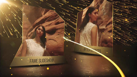 Fame Slideshow After Effects Template