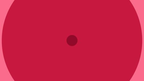 Simple circular transition 6 pattern set (transparent background) Animation