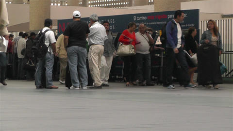 Benito Juarez Airport Domestic Terminal Mexico City 3 Stock Video Footage