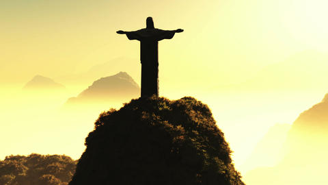 Corcovado Sunset 3 Animation
