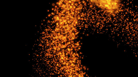 Crazy Particles 1 Stock Video Footage