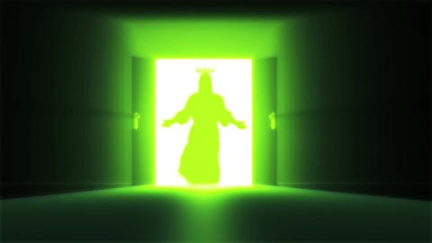 Mysterious Door 13 jesus Animation