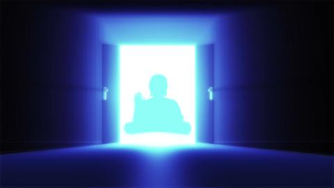 Mysterious Door 19 buddha Animation