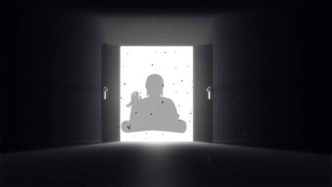 Mysterious Door v 2 10 buddha Animation