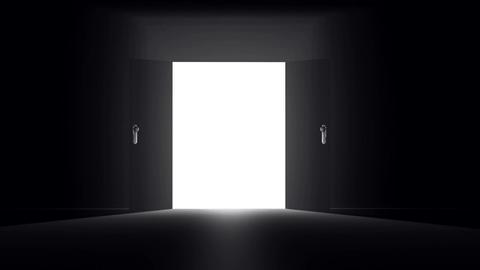 Mysterious Door v 3 1 Stock Video Footage