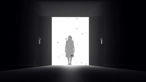 Mysterious Door Yurei
