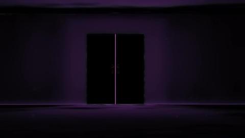 Mysterious Door v 4 5 yurei Stock Video Footage