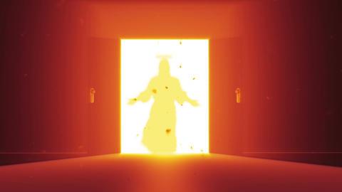 Mysterious Door Jesus Christ 0