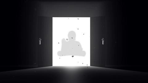 Mysterious Door Buddha