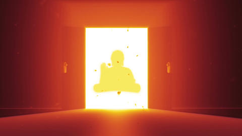 Mysterious Door Buddha 0