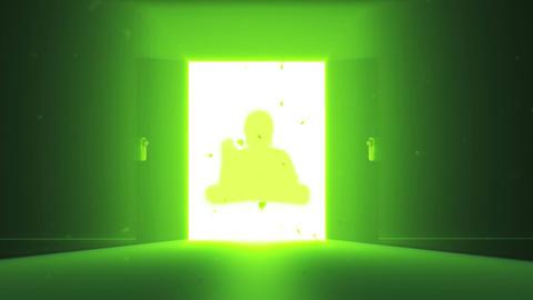 Mysterious Door Buddha 1