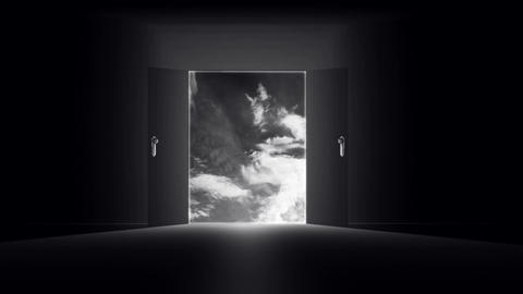 Mysterious Door v 6 1 Stock Video Footage
