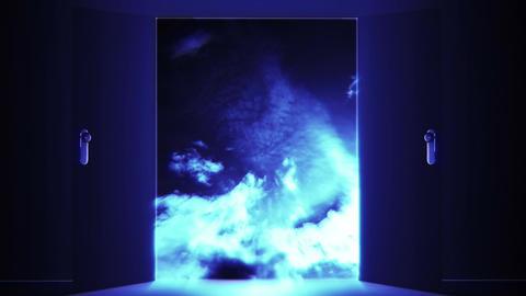 Mysterious Door Heaven Clouds 2