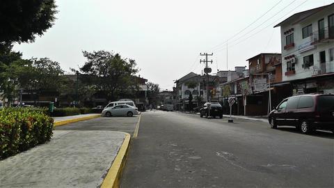 Oaxaca Crucecita Town Mexico 3 Footage