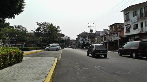 Oaxaca Crucecita Town Mexico 3 Stock Video Footage