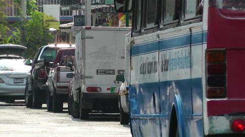 Oaxaca Crucecita Town Mexico 5 Stock Video Footage