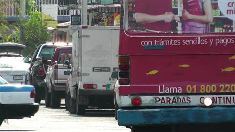 Oaxaca Crucecita Town Mexico 5 Footage