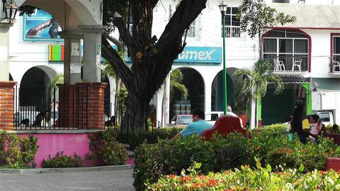 Oaxaca Crucecita Town Mexico 7 Footage