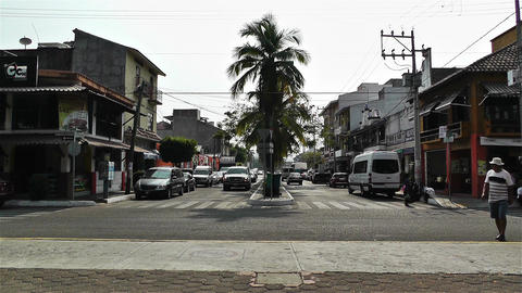 Oaxaca Crucecita Town Mexico 13 Footage