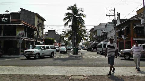Oaxaca Crucecita Town Mexico 13 Stock Video Footage