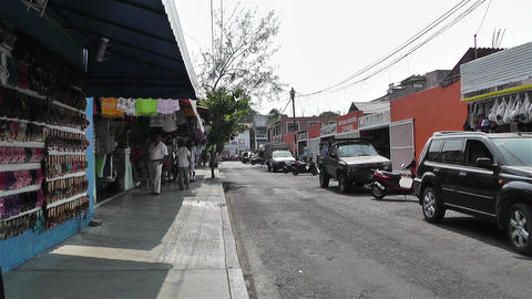 Oaxaca Crucecita Town Mexico 17 Stock Video Footage