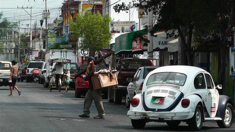 Oaxaca Crucecita Town Mexico 19 Footage