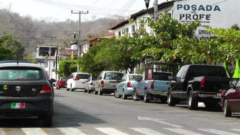 Oaxaca Crucecita Town Mexico 25 Footage
